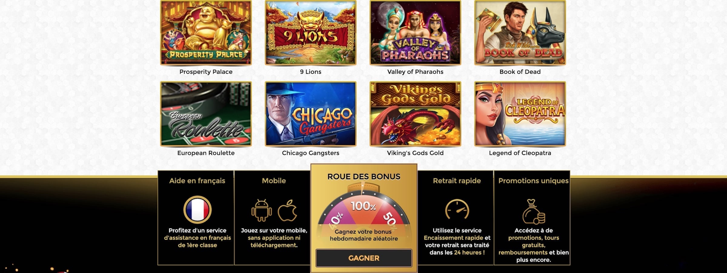 UniqueCasino officiel